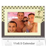 My Vacation Photo Calendar - Wall Calendar 11  x 8.5  (12-Months)
