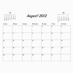 Koerner Calendar 2011 by Alecia Aug 2012