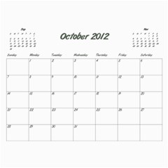 Koerner Calendar 2011 by Alecia Oct 2012