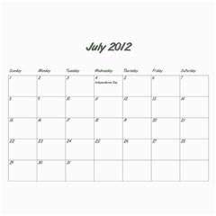 Rayhons Calendar 2011 By Alecia    Wall Calendar 11  X 8 5  (12 Months)   578nzlgmagmb   Www Artscow Com Jul 2012
