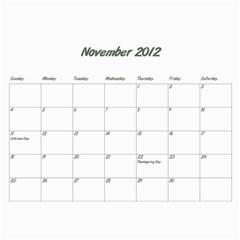 Rayhons Calendar 2011 By Alecia    Wall Calendar 11  X 8 5  (12 Months)   578nzlgmagmb   Www Artscow Com Nov 2012