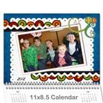 Nan calendar 4 - Wall Calendar 11  x 8.5  (12-Months)
