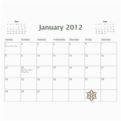 Nan Calendar 4 By Connie Goates   Wall Calendar 11  X 8 5  (12 Months)   8gb9hkdxu4kz   Www Artscow Com Jan 2012