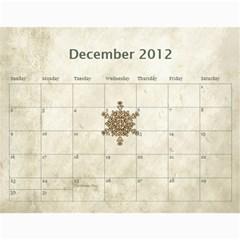 Wendy s 2012 Calendar By Wendy   Wall Calendar 11  X 8 5  (12 Months)   4m7ermpirbjw   Www Artscow Com Dec 2012