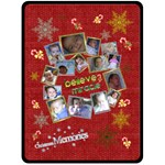 A Little Christmas - Fleece Blanket (Extra Large) - Fleece Blanket (Large)