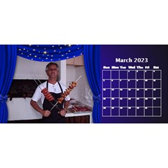 Our Production Desktop 2018 11 Inch Calendar By Deborah   Desktop Calendar 11  X 5    Wh64m55rge9y   Www Artscow Com Mar 2018