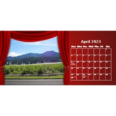 Our Production Desktop 2018 11 Inch Calendar By Deborah   Desktop Calendar 11  X 5    Wh64m55rge9y   Www Artscow Com Apr 2018