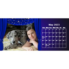 Our Production Desktop 2017 11 Inch Calendar By Deborah   Desktop Calendar 11  X 5    Wh64m55rge9y   Www Artscow Com May 2017
