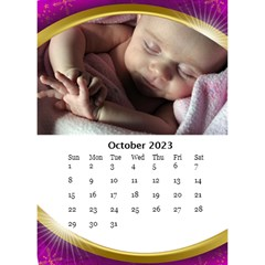 Desktop Calendar With Class (6x8 5) By Deborah   Desktop Calendar 6  X 8 5    1a0p27ni66fu   Www Artscow Com Oct 2017