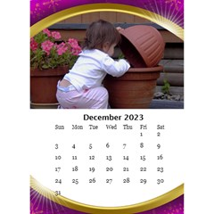 Desktop Calendar with Class (6x8.5) by Deborah Dec 2013