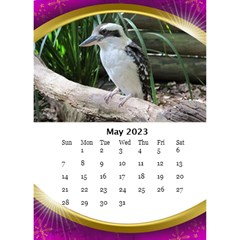 Desktop Calendar with Class (6x8.5) by Deborah May 2013