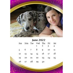 Desktop Calendar with Class (6x8.5) by Deborah Jun 2013