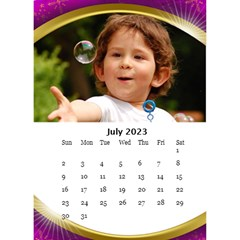Desktop Calendar with Class (6x8.5) by Deborah Jul 2013