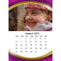 Desktop Calendar with Class (6x8.5) by Deborah Aug 2013