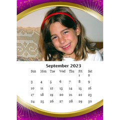Desktop Calendar with Class (6x8.5) by Deborah Sep 2013