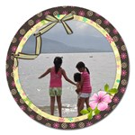 best of friends 5  magnet - Magnet 5  (Round)