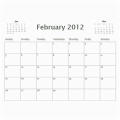Calander 2012 By Vanessa   Wall Calendar 11  X 8 5  (12 Months)   Thhxcwb8ow92   Www Artscow Com Feb 2012