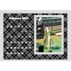 Framed In Silver 2018 Desk Calendar (8 5x6) By Deborah   Desktop Calendar 8 5  X 6    E6w5gnjuhh9f   Www Artscow Com Feb 2018