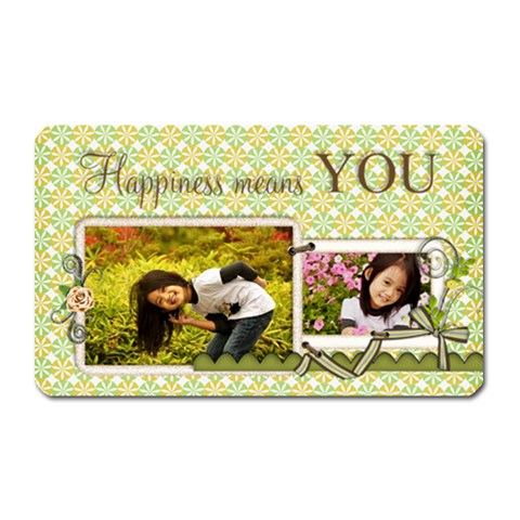 Love Rectangular Magnet By Angel   Magnet (rectangular)   3ql1om94y0b3   Www Artscow Com Front