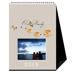 Desktop Calendar 6  X 8 5 : Our Family By Jennyl   Desktop Calendar 6  X 8 5    Ps9pa5aaa16j   Www Artscow Com Cover
