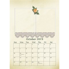 Desktop Calendar 6  X 8 5 : Our Family By Jennyl   Desktop Calendar 6  X 8 5    Ps9pa5aaa16j   Www Artscow Com Oct 2016