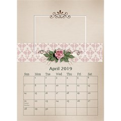 Desktop Calendar 6  X 8 5 : Our Family By Jennyl   Desktop Calendar 6  X 8 5    Ps9pa5aaa16j   Www Artscow Com Apr 2019