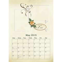 Desktop Calendar 6  X 8 5 : Our Family By Jennyl   Desktop Calendar 6  X 8 5    Ps9pa5aaa16j   Www Artscow Com May 2016