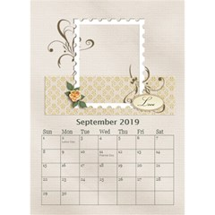 Desktop Calendar 6  X 8 5 : Our Family By Jennyl   Desktop Calendar 6  X 8 5    Ps9pa5aaa16j   Www Artscow Com Sep 2016