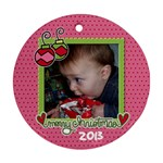 2013 Chistmas - Ornament (Round)