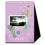 Desktop Calendar 6  x 8.5 : Cherished Memories