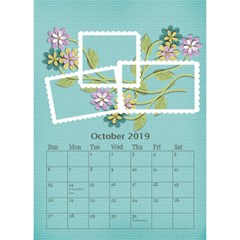 Desktop Calendar 6  X 8 5 : Cherished Memories By Jennyl   Desktop Calendar 6  X 8 5    52aaoardl523   Www Artscow Com Oct 2019
