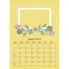 Desktop Calendar 6  X 8 5 : Cherished Memories By Jennyl   Desktop Calendar 6  X 8 5    52aaoardl523   Www Artscow Com Apr 2019