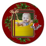 Christmas 5  Magnet - Magnet 5  (Round)