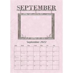 Sweet Baby Girl Desktop Calendar 6 x8 5  By Lil    Desktop Calendar 6  X 8 5    Yh1k64nl89k9   Www Artscow Com Sep 2015