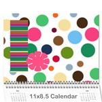 799 calendar - Wall Calendar 11  x 8.5  (12-Months)
