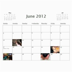 799 Calendar By Mandi Jun 2012