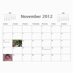 799 Calendar By Mandi Nov 2012