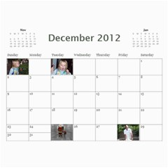 799 Calendar By Mandi Dec 2012