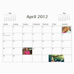 799 Calendar By Mandi Apr 2012