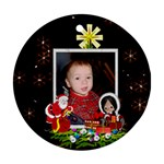 Christmas Woonders Ornament two sides - Round Ornament (Two Sides)
