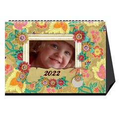 2015 Desktop Calendar 8 5x6, Family By Mikki Cover