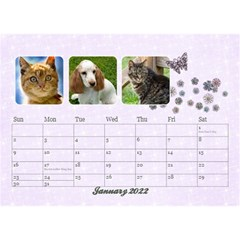 2015 Desktop Calendar 8 5x6, Family By Mikki Jan 2021