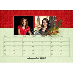 2015 Desktop Calendar 8 5x6, Family By Mikki Dec 2021