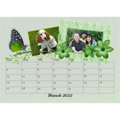 2015 Desktop Calendar 8 5x6, Family By Mikki Mar 2021