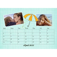 2015 Desktop Calendar 8 5x6, Family By Mikki Apr 2021