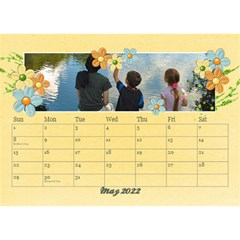 2015 Desktop Calendar 8 5x6, Family By Mikki May 2021