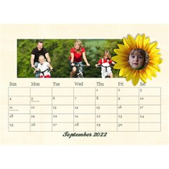 2015 Desktop Calendar 8 5x6, Family By Mikki Sep 2021