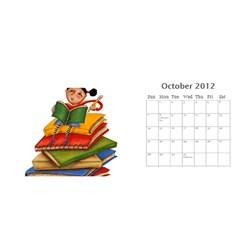 11x5 By Berry   Desktop Calendar 11  X 5    Lxwrva3lqju4   Www Artscow Com Oct 2012