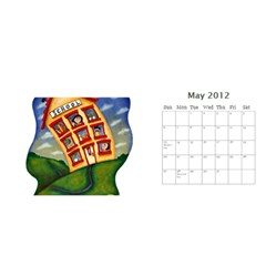 11x5 By Berry   Desktop Calendar 11  X 5    Lxwrva3lqju4   Www Artscow Com May 2012