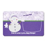 Let it Snow-From Ours to Yours - Magnet (Rectangular)